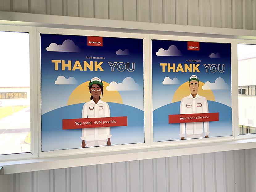 Honda Swindon Closure Thank You 2