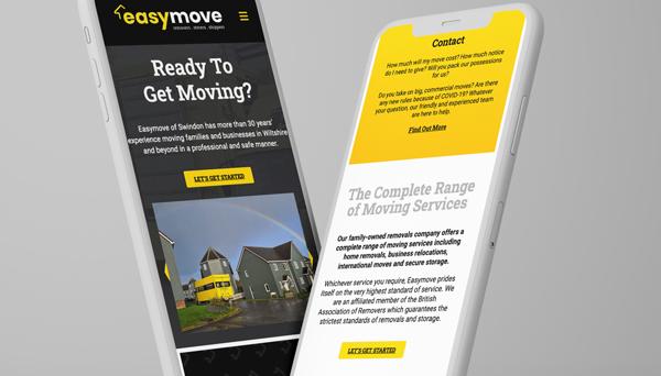A fresh new website for Easymove of Swindon.