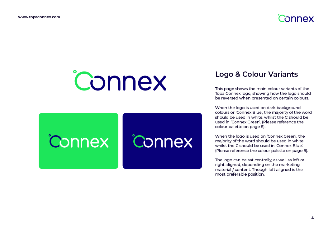 Topa Connex Brand Guidelines