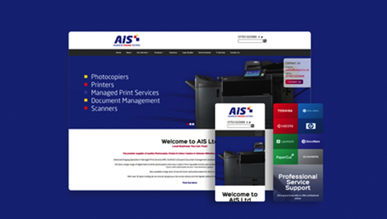 AIS Swindon gets a cost-effective website makeover.