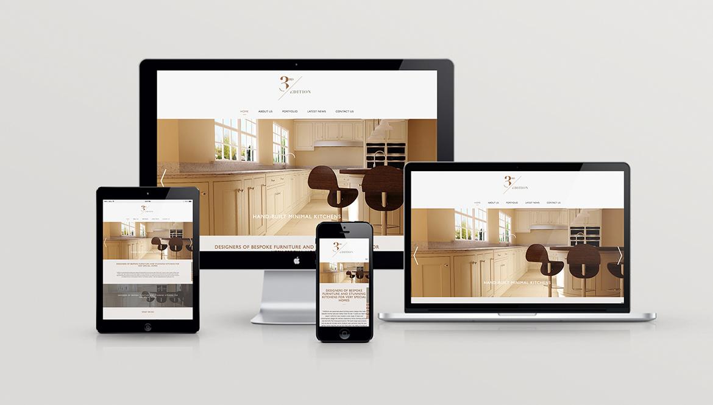 3rd Edition website design.