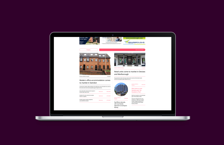 Business Biscuit branding and website design.