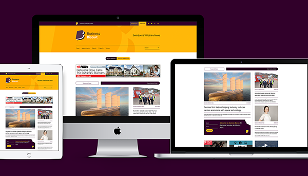 A new bitesized news website for Business Biscuit.