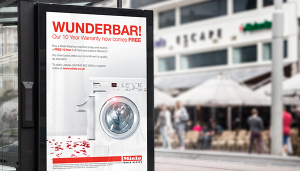 Miele launches Wunderbar! campaign.